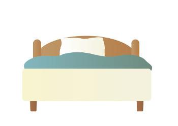 ベッドの配置
